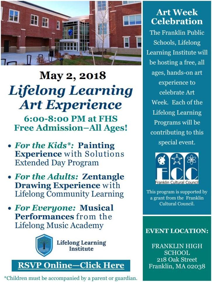 SAVE THE DATE - Celebrate ArtWeek at FHS on May 2