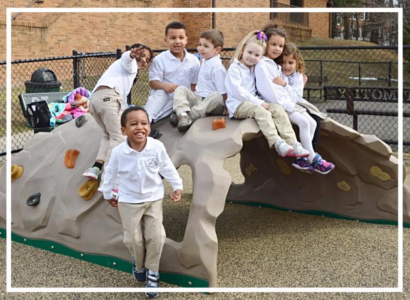 Preschool recess!