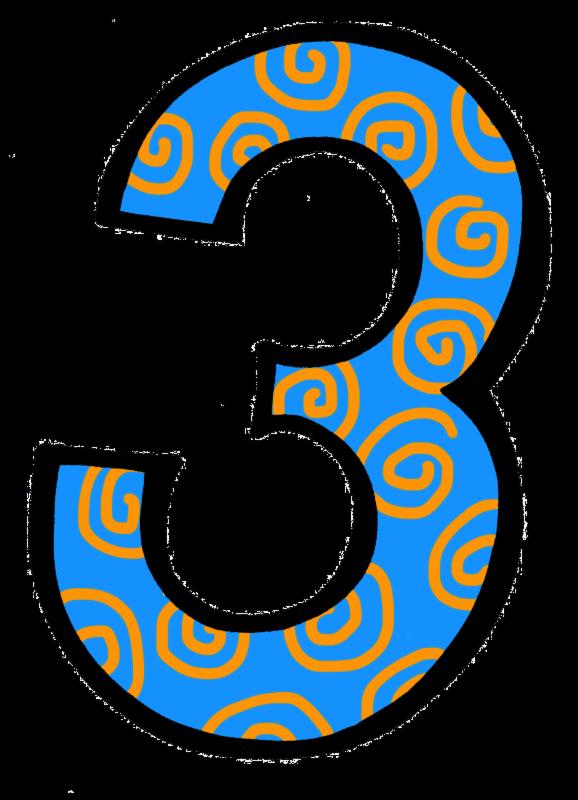 number 3