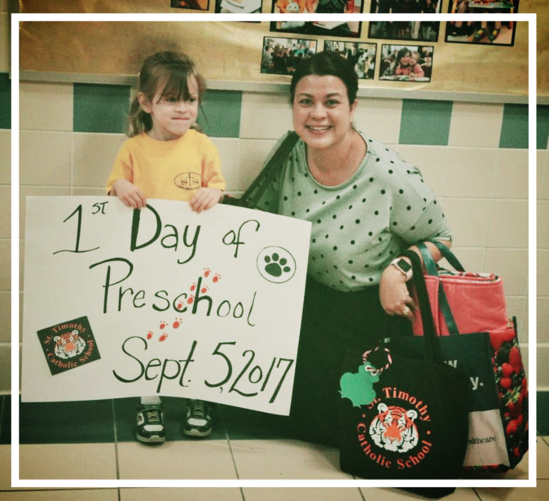 preschool 1st day