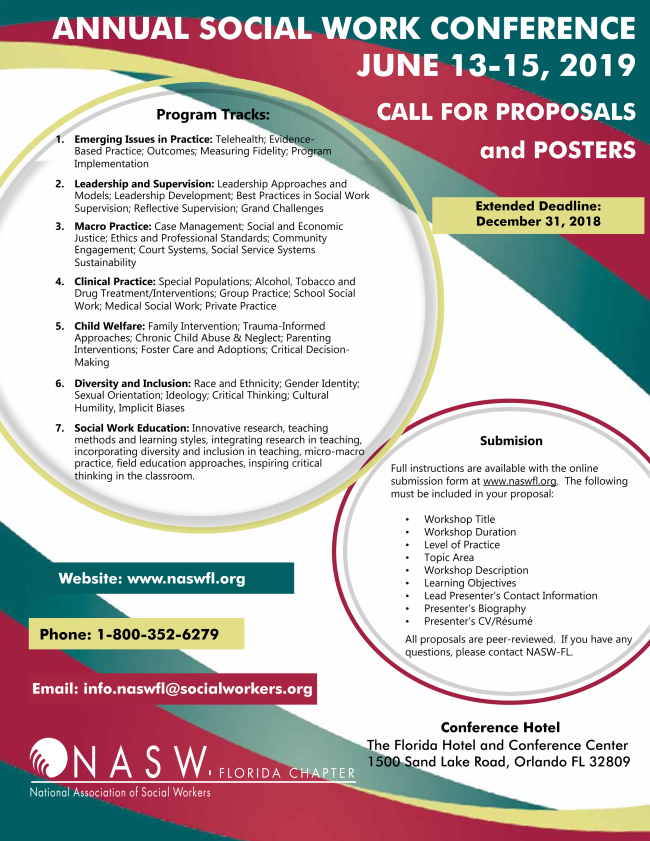 NASW-FL Call for Proposals