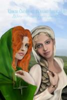 Brighid and Darlughdach by Rowan Lewgalon and Tricia Danby