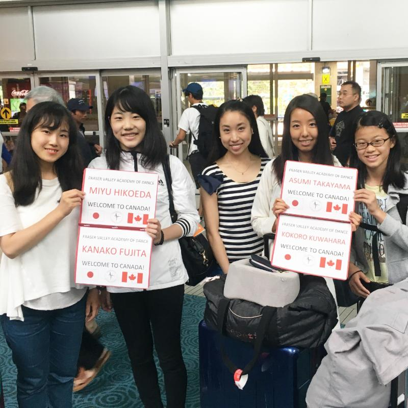 Welcoming Japanese students