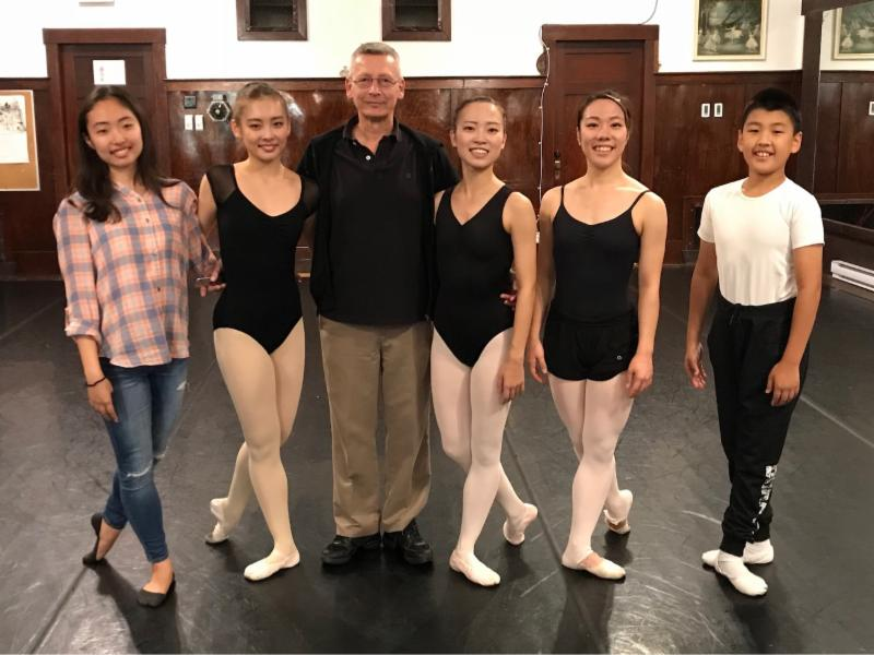 Japanese students audition October 2017