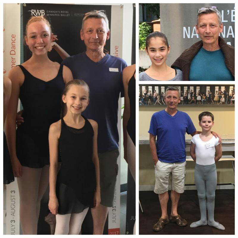 FVAD students accepted to ballet company schools