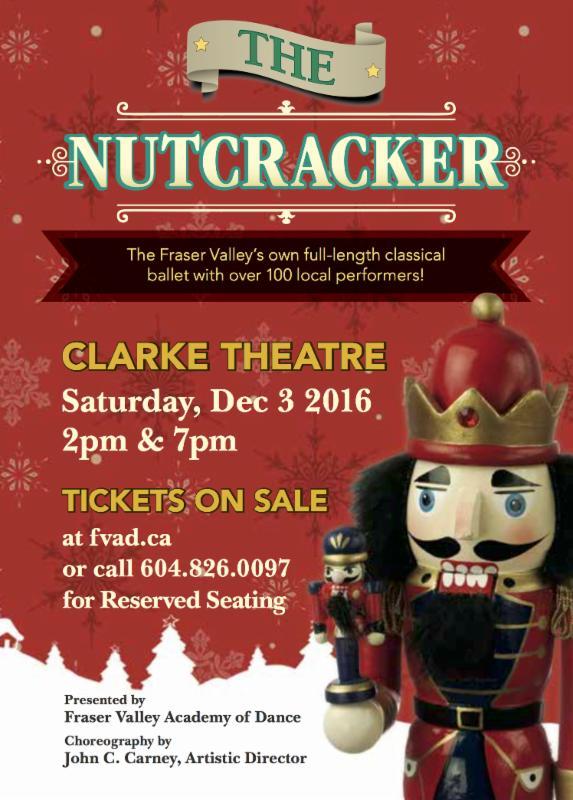FVAD Nutcracker 2016 Clarke Theatre Dec 3