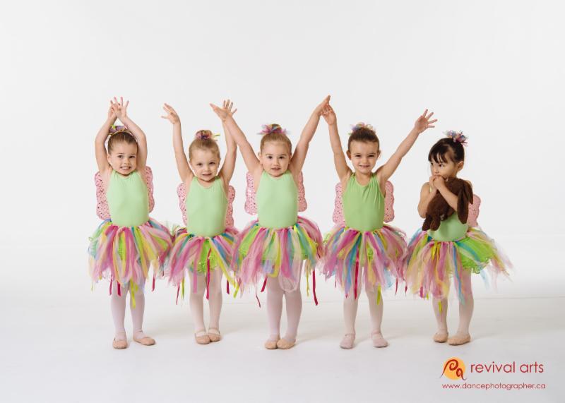 Revival Arts Pre-School Dance Class