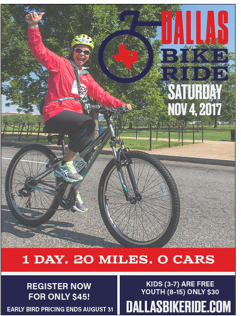 Dallas Bike Tour Early Registration Now Open