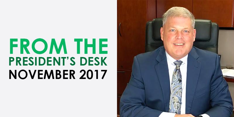 From the President_s Desk