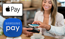 Apple Pay and Samsung Pay