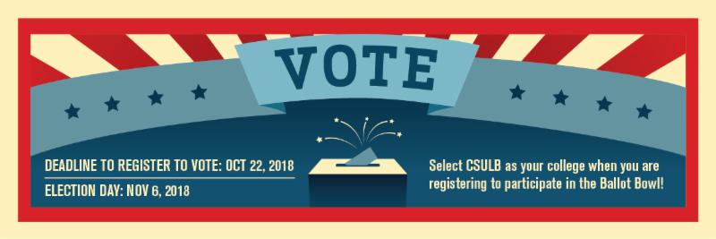 Register to Vote by Oct 22