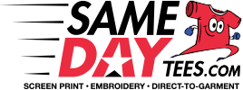 Same Day Tees Logo