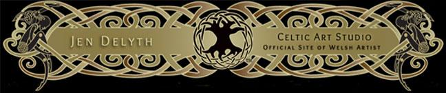 Celtic Art Studio by Jen Delyth Logo