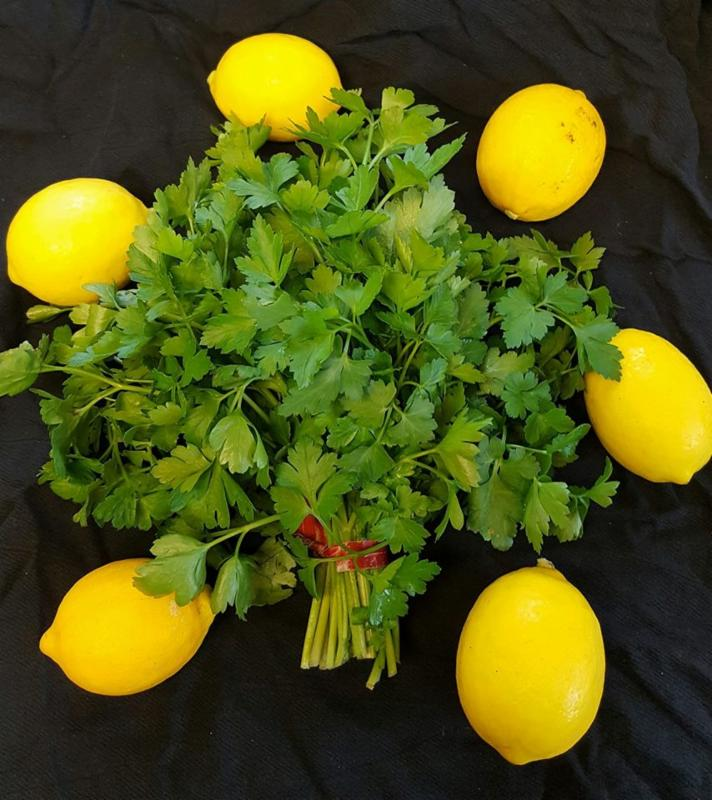 Laguna Farm Parsley with Lemons