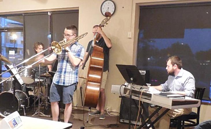 Jazz Band playing Fall 2016
