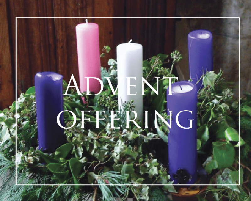 Advent Offering
