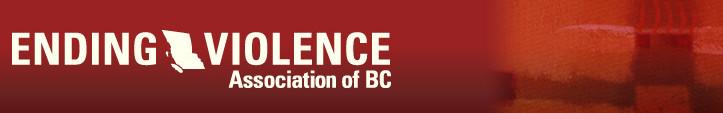 Ending Violence Association of BC Banner