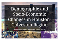 Demographic and Socio-economic changes in the houston region cover