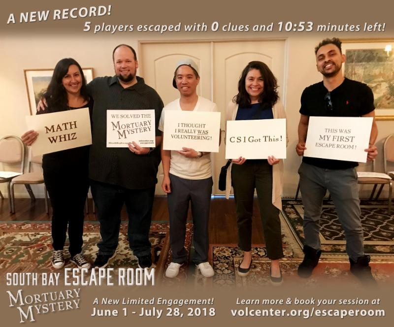 A New Record for South Bay Escape Room_ Mortuary Mystery_