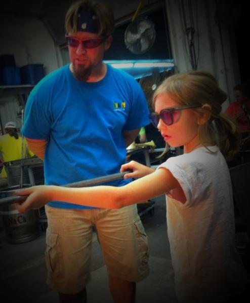 learning the next generation of glassblowers