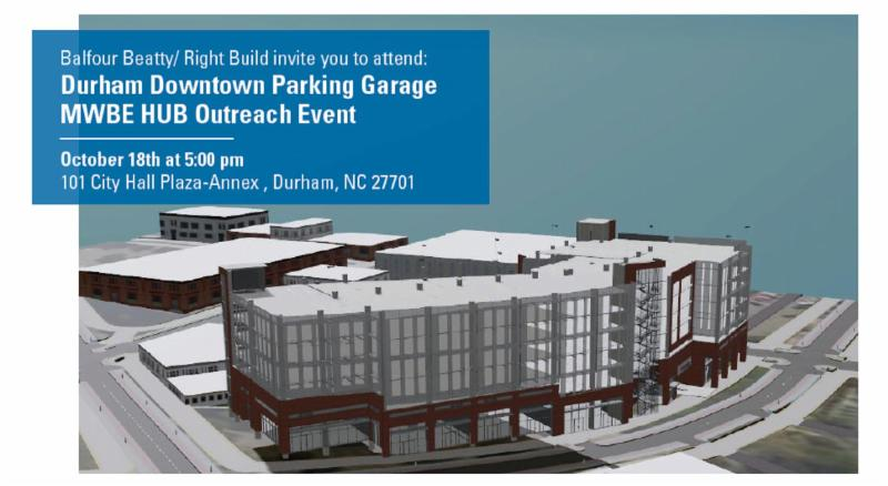 Nc Doa Balfour Beatty Right Build Durham Downtown Parking Garage