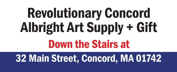 both stores Revolutionary Concord & Albright Art
