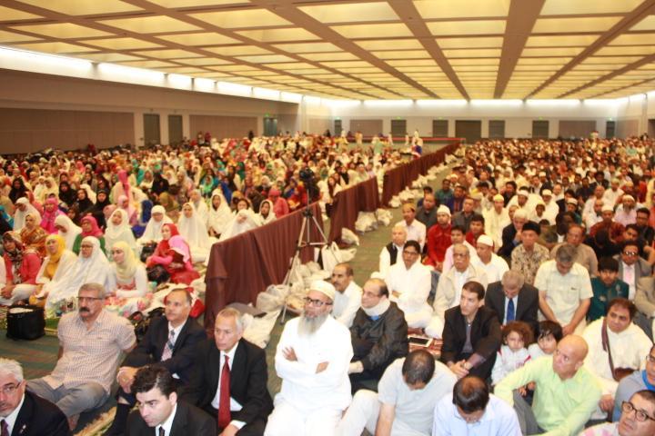 Photo of Eid prayers 2016