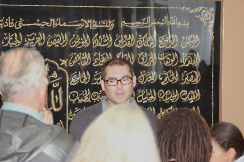 Photo of Jihad Turk at Decoding Rituals and Symbols of Islam