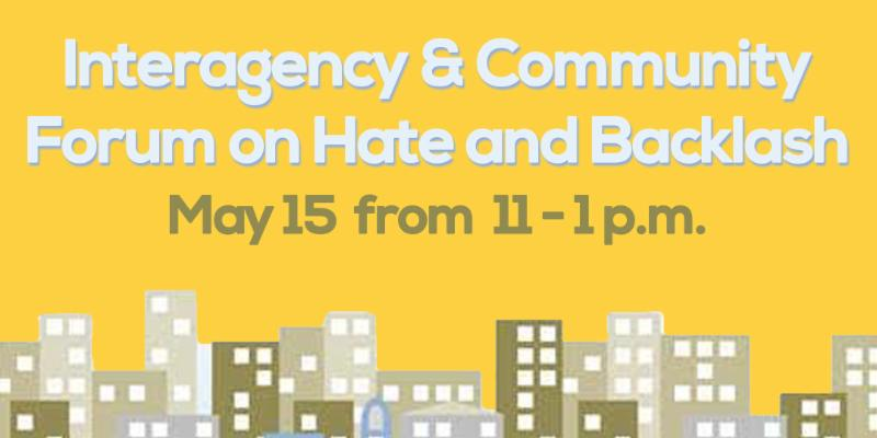 Forum on Hate Banner
