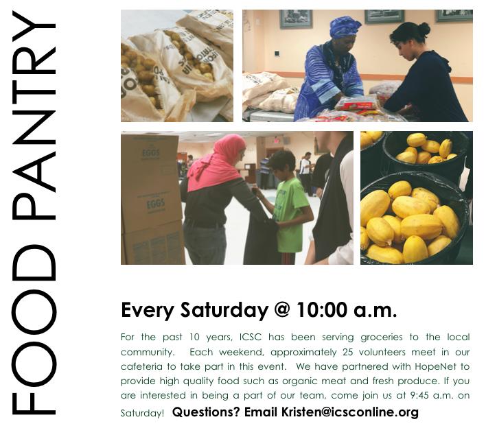 Food Pantry Poster