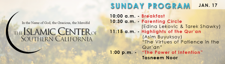 Sunday Program Graphic