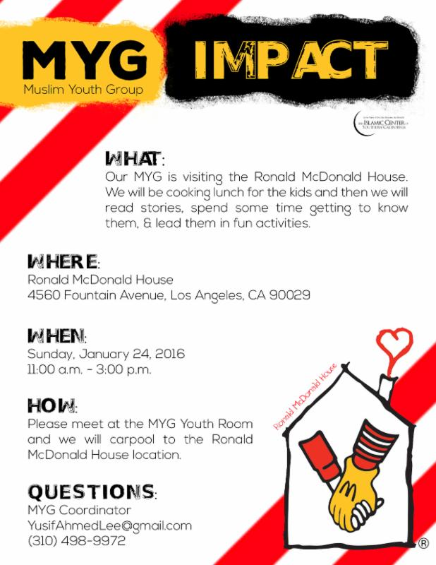 MYG Impact Event Poster
