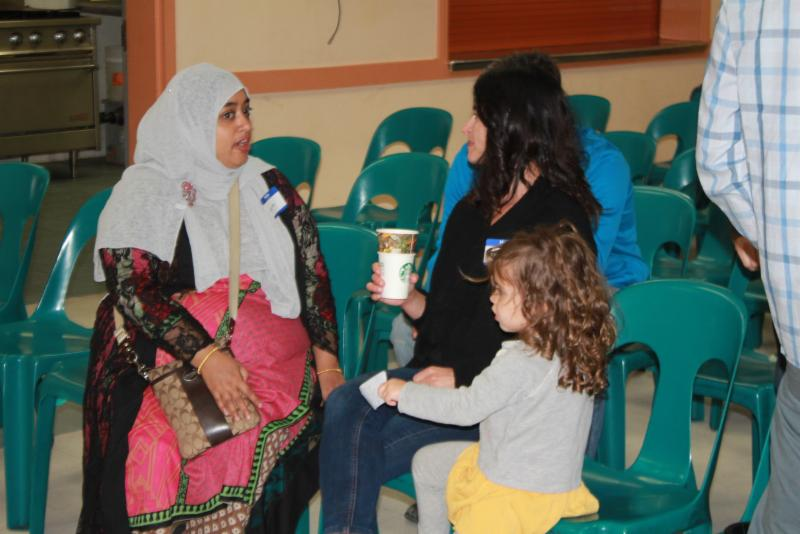 Photo of Sunday School project with Jewish Learning Center