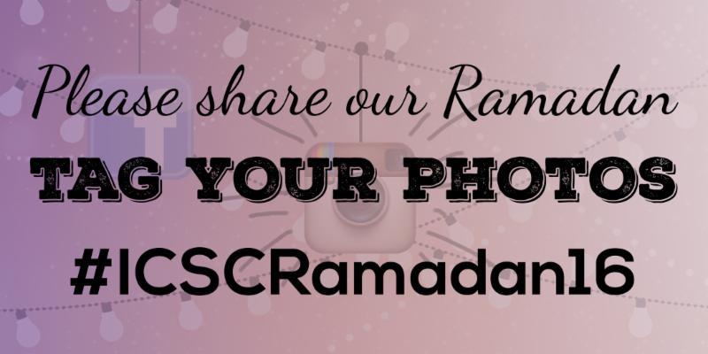 Tag Your Photos _ICSCRamadan16 Banner