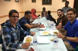 Photo of Salam Al-Marayati_ Malek Al-Marayati_ Omar Elmasri at our Memorial Day BBQ