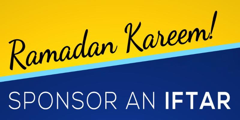 Iftar Sponsorship Banner