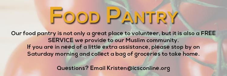 Food Pantry Banner