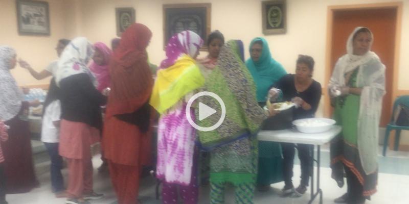 Video of Suhoor at Spiritual Night on June 18