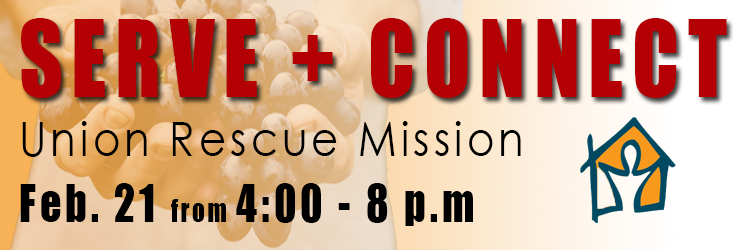 Serve and Connect Banner