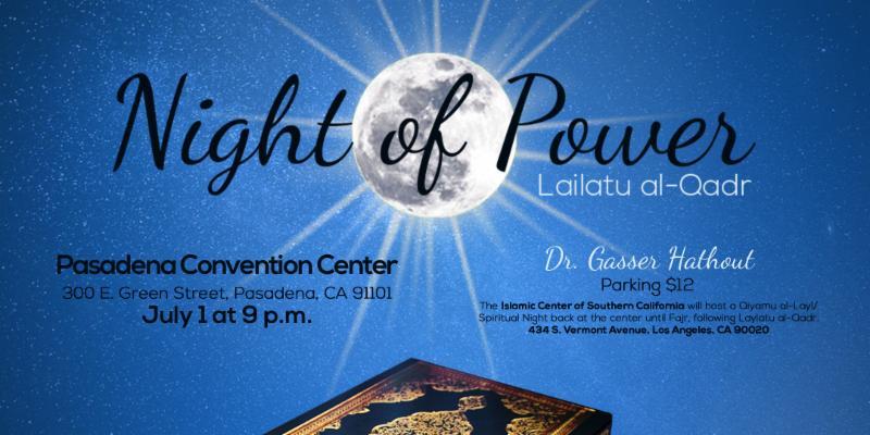 Night of Power Banner