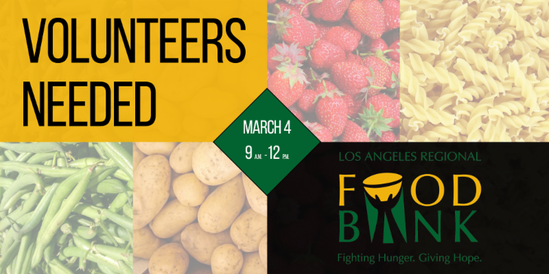 Food Bank Volunteer Banner
