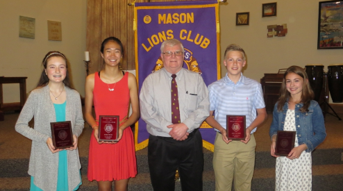 Lions Club Citizenship Award