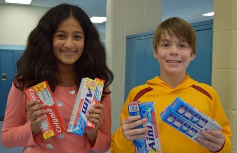 Team Success Toothpaste Drive
