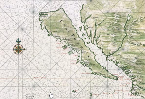 CA map drawing