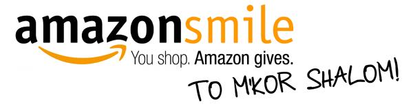 Support M_kor Shalom at AmazonSmile