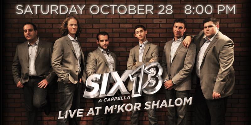 Six13 Live at M_kor Shalom_