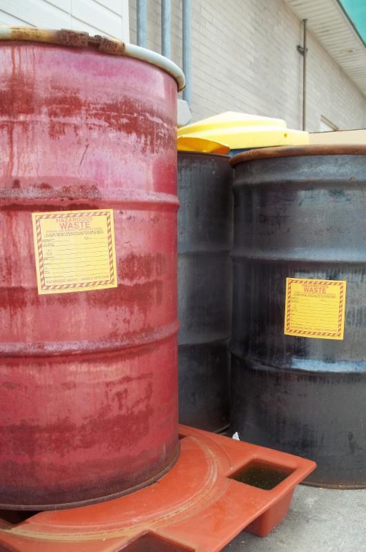 Containers of Hazardous Waste