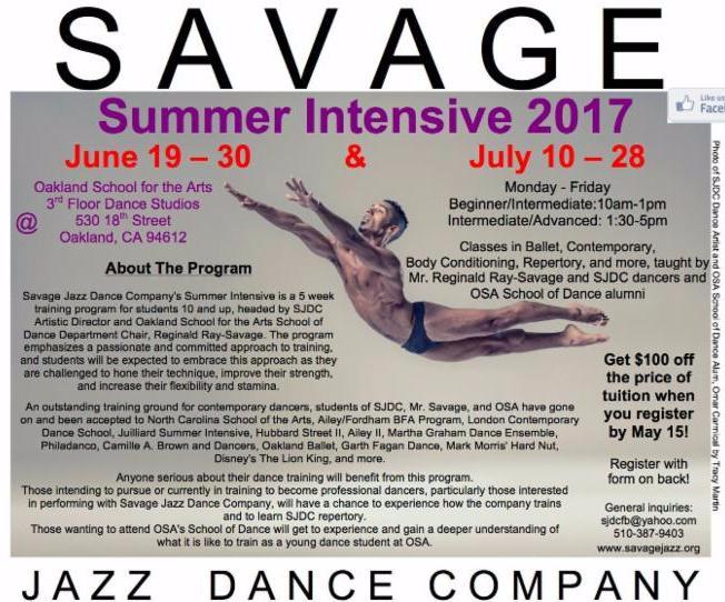 2017 Summer Dance Intensive