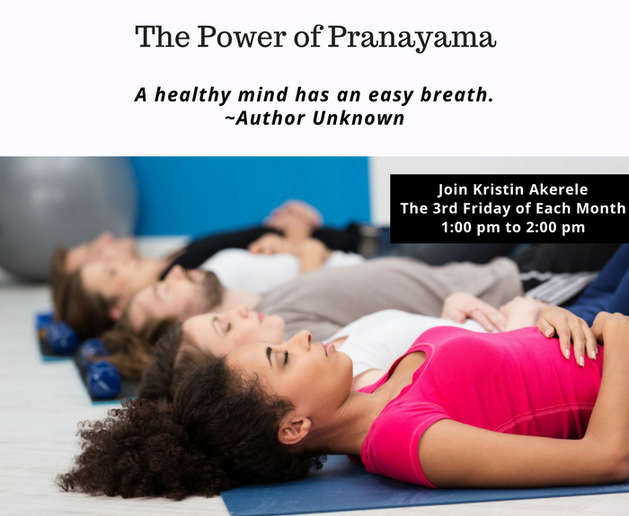 The Power of Pranayama -  A New Workshop at A Gentle Way Yoga