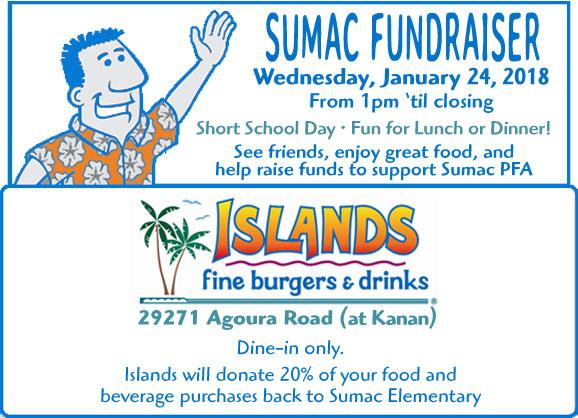 Sumac Fundraiser at Islands